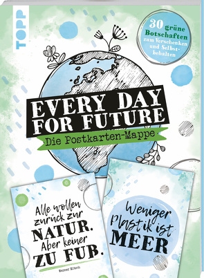 Every Day For Future – die Postkarten-Mappe von Jones,  Josephine