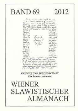 Evidenz und Zeugenschaft von Frank,  Susanne, Schahadat,  Schamma
