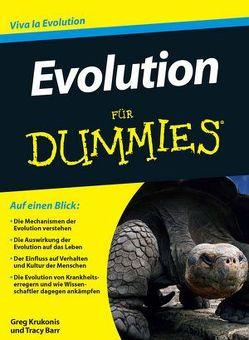Evolution für Dummies von Barr,  Tracy, Hemschemeier,  Susanne Katharina, Krukonis,  Greg
