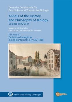 Evolutionsbiologie im Biologieunterricht der SBZ/DDR von Porges,  Karls