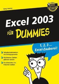 Excel 2003 für Dummies von Harvey,  Greg