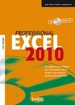 Excel 2010 Professional von Hunger,  Lutz
