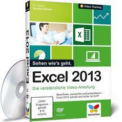 Excel 2013 von Zinkann,  Harald
