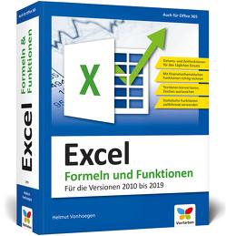 Excel 2019 – Formeln und Funktionen von Vonhoegen,  Helmut