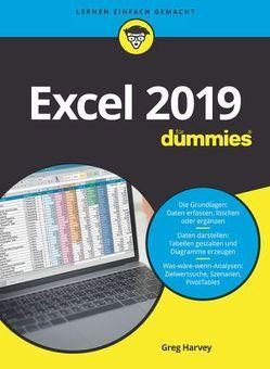 Excel 2019 für Dummies von Haller,  Michaela, Harvey,  Greg
