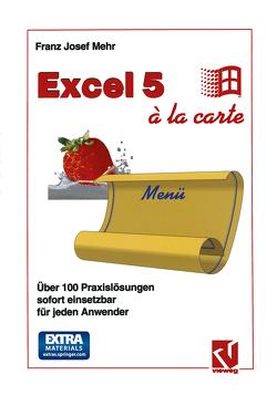 Excel 5 à la Carte von Mehr,  Franz Josef