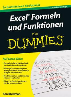 Excel Formeln und Funktionen für Dummies von Bluttman,  Ken, Haller,  Michaela