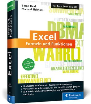 Excel – Formeln und Funktionen von Eichhorn,  Michael, Held,  Bernd