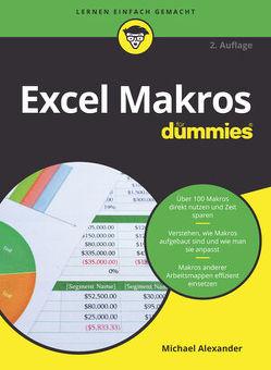 Excel Makros für Dummies von Alexander,  Michael, Haselier,  Rainer G.