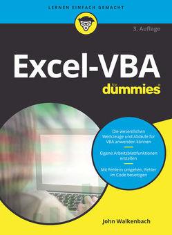 Excel-VBA für Dummies von Haselier,  Rainer G., Walkenbach,  John