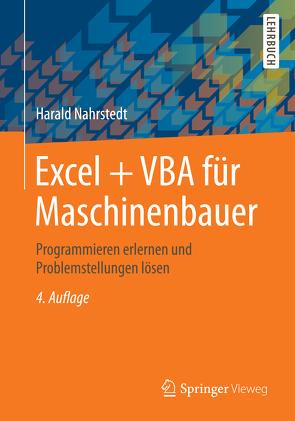 Excel + VBA für Maschinenbauer von Nahrstedt,  Harald