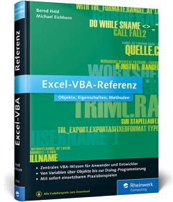 Excel-VBA-Referenz von Eichhorn,  Michael, Held,  Bernd