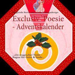 Exclusiv  Poesie – Adventskalender von Bartz,  Sieglinde, bhagadesign,  Institut