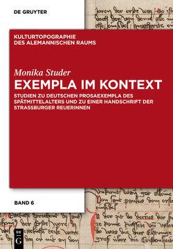 Exempla im Kontext von Studer,  Monika
