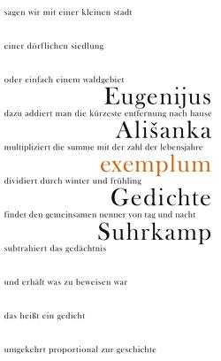 Exemplum von Alisanka,  Eugenijus, Berthel,  Klaus