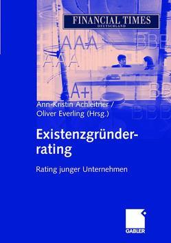 Existenzgründerrating von Achleitner,  Ann-Kristin, Everling,  Oliver