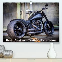 Exklusive Best of Fat Ass Custombike Edition, feinste Harleys mit fettem Hintern (Premium, hochwertiger DIN A2 Wandkalender 2020, Kunstdruck in Hochglanz) von Wolf,  Volker