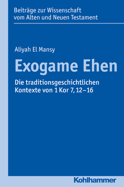 Exogame Ehen von Dietrich,  Walter, El Mansy,  Aliyah, Gielen,  Marlis, Scoralick,  Ruth, von Bendemann,  Reinhard