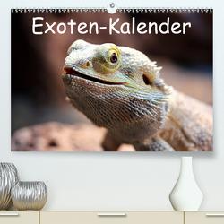 Exoten-Kalender (Premium, hochwertiger DIN A2 Wandkalender 2021, Kunstdruck in Hochglanz) von Witkowski,  Bernd