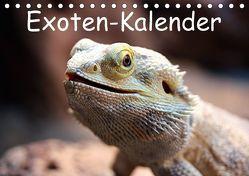 Exoten-Kalender (Tischkalender 2018 DIN A5 quer) von Witkowski,  Bernd
