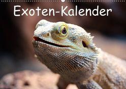 Exoten-Kalender (Wandkalender 2018 DIN A2 quer) von Witkowski,  Bernd