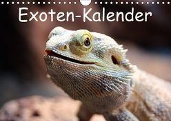 Exoten-Kalender (Wandkalender 2018 DIN A4 quer) von Witkowski,  Bernd