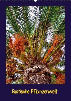 Exotische Pflanzenwelt (Wandkalender 2018 DIN A2 hoch) von Schneller,  Helmut