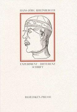 Experiment, Differenz, Schrift von Rheinberger,  Hans J