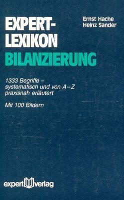 expert-Lexikon Bilanzierung von Hache,  Ernst, Sander,  Heinz