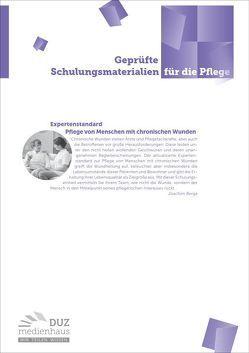 Expertenstandard Pflege von Menschen mit chronischen Wunden von Berga,  Joachim