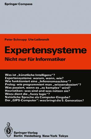 Expertensysteme von Leibrandt,  Ute, Schnupp,  Peter
