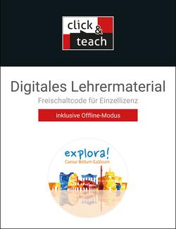 explora! / explora! click & teach 2 Box von Doepner,  Thomas, Dronia,  Michael, Englisch,  Christina, Keip,  Marina, Sucharski,  Antje