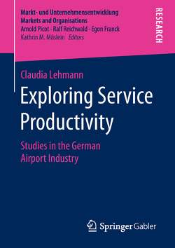 Exploring Service Productivity von Lehmann,  Claudia