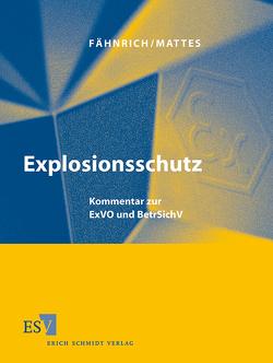 Explosionsschutz – Einzelbezug von Fähnrich,  Ralph, Jeiter,  Wolfram, Nöthlichs,  Matthias