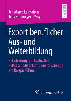 Export beruflicher Aus- und Weiterbildung von Klusmeyer,  Jens, Leimeister,  Jan Marco