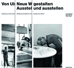 Expositionen der Hochschule für Gestaltung Ulm von Hensel,  Thomas, Mäntele,  Martin, Plate,  Felix, Siegel,  Steffen
