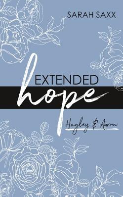 EXTENDED hope von Saxx,  Sarah