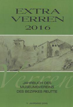 Extra Verren 2016 von Hornstein,  Ernst, Kofelenz,  Sonja, Linser,  Peter, Lipp,  Richard, Pfundner,  Thomas, Wankmiller,  Klaus