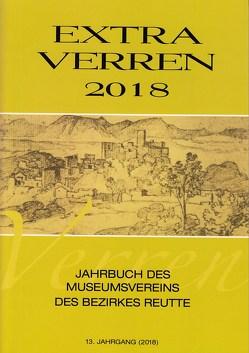 Extra Verren 2018 von Hornstein,  Ernst, Kirchmayr,  Margarethe, Kofelenz,  Sonja, Linser,  Peter, Lipp,  Richard, Pfundner,  Thomas, Rabitsch,  Julia, Wankmiller,  Klaus