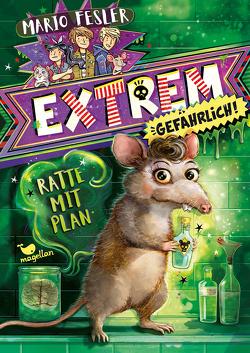 Extrem gefährlich! Ratte mit Plan von Fesler,  Mario, Schoeffmann-Davidov,  Eva
