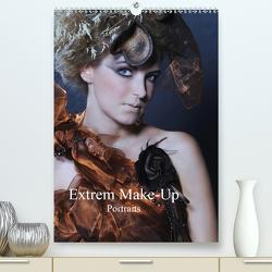 Extrem Make-Up Portraits (Premium, hochwertiger DIN A2 Wandkalender 2021, Kunstdruck in Hochglanz) von Eckerlin,  Claus
