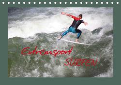 Extremsport Surfen (Tischkalender 2021 DIN A5 quer) von Hultsch,  Heike