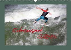 Extremsport Surfen (Wandkalender 2021 DIN A3 quer) von Hultsch,  Heike