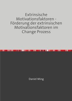 Extrinsische Motivationsfaktoren – Förderung der extrinsischen Motivationsfaktoren im Change Prozess von Ming,  Daniel