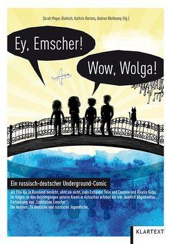 Ey Emscher! Wow Wolga! von Meyer-Dietrich,  Sarah, Oerters,  Kathrin, Weitkamp,  Andrea