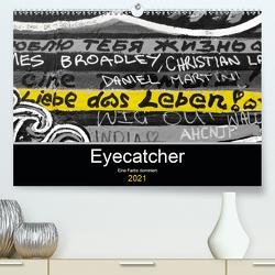 Eyecatcher – Eine Farbe dominiert (Premium, hochwertiger DIN A2 Wandkalender 2021, Kunstdruck in Hochglanz) von happyroger