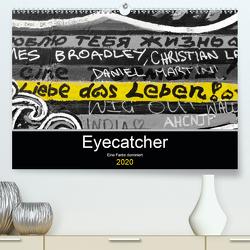 Eyecatcher – Eine Farbe dominiert (Premium, hochwertiger DIN A2 Wandkalender 2020, Kunstdruck in Hochglanz) von happyroger