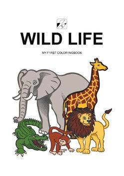 EyeVisto: Wild Life Malbuch von Koch,  Torsten