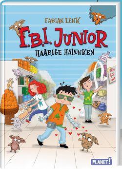 F.B.I. junior 2: Haarige Halunken von Lenk,  Fabian, Rath,  Tessa
