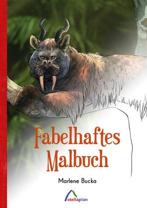 Fabelhaftes Malbuch von Bucka,  Marlene